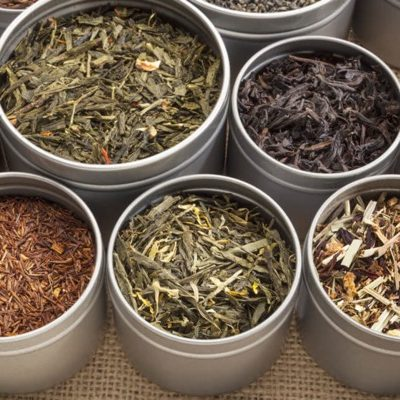 different type of tea types