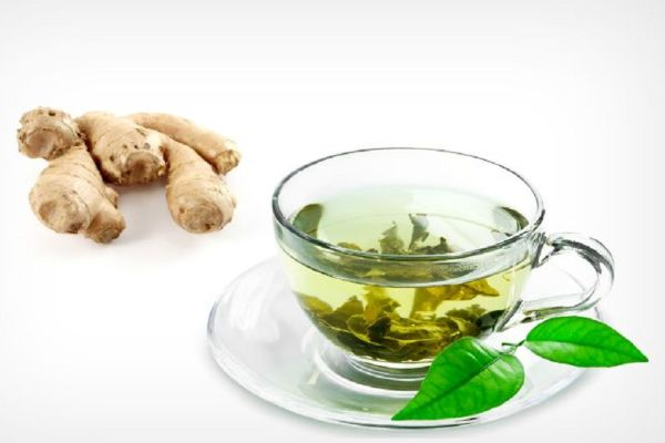 Ginger Tea with Green Tea