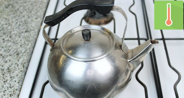 Making Tea with Infuser Step 2