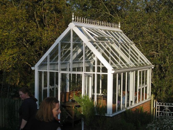 safe inside a greenhouse