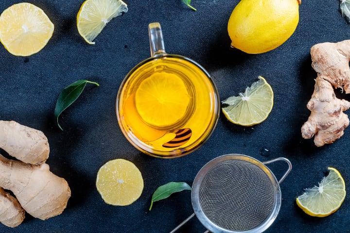 lemon tea recipes