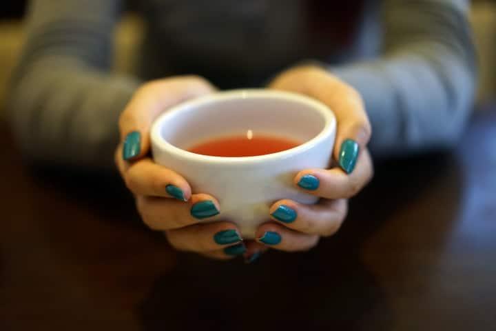 lemon tea with turmeric