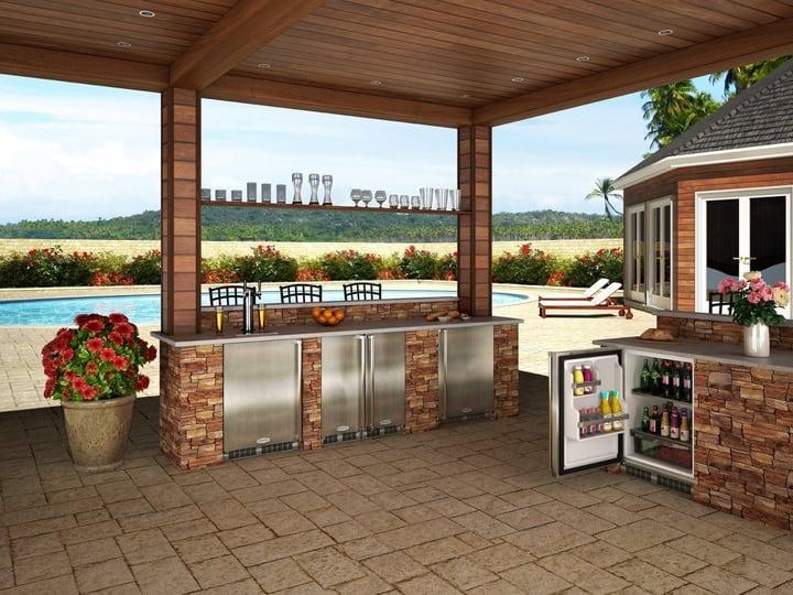 open air outdoor kitchen