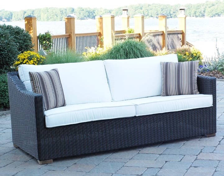 rattan furniture with cushion