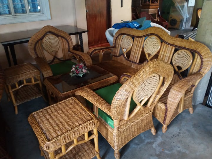 rattan garden furniture for sale