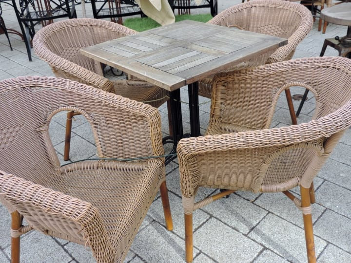 stackable lightweight rattan furniture