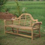 teak wooden benches