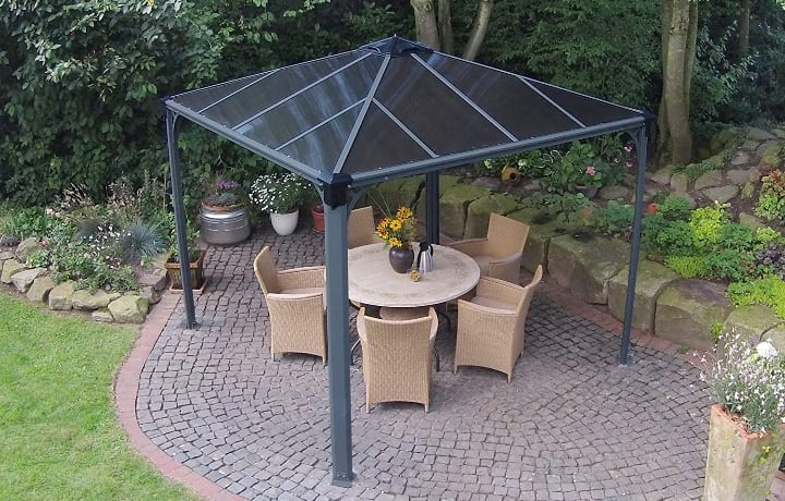 top choice small gazebo