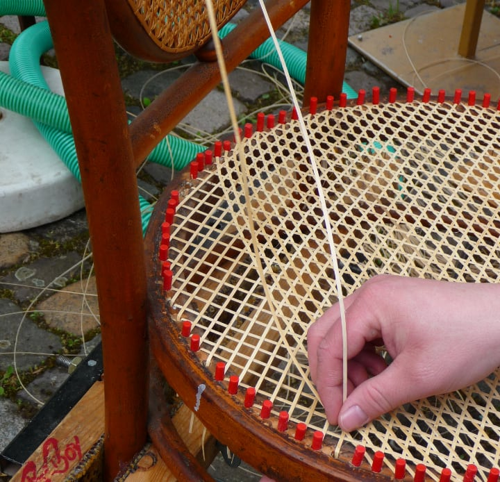 weaving wicker