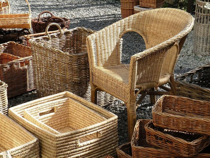 wicker rattan products