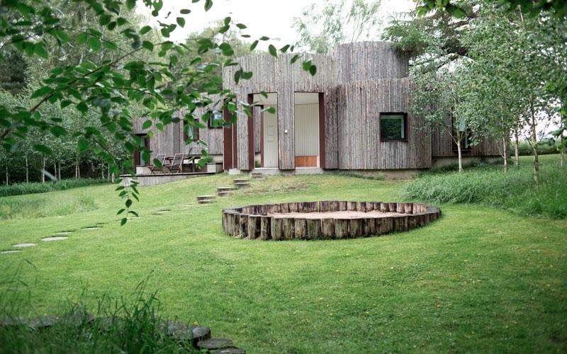 backyard garden images