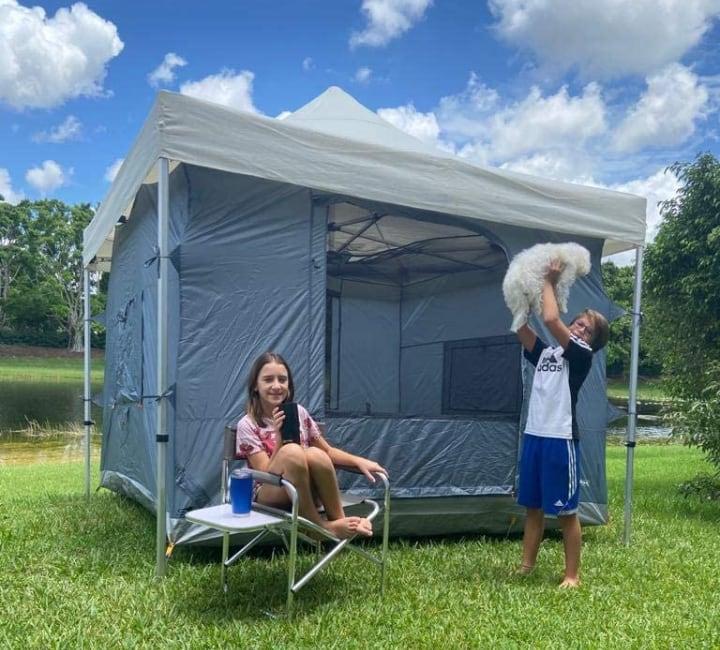 family trailer tent for children