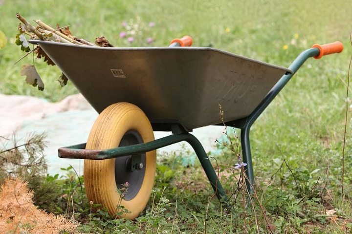 front wheelbarrow