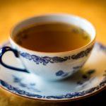 green tea on cup