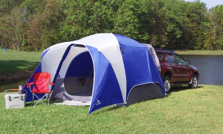 pop up trailer tent for two