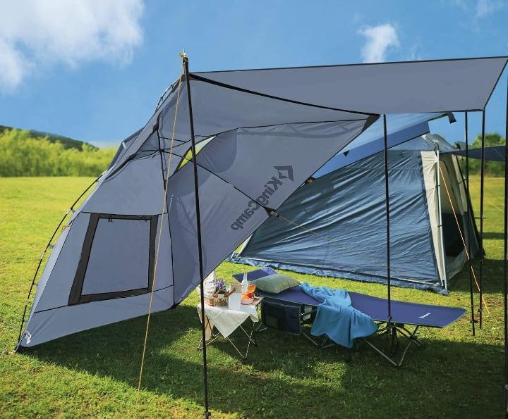 portable trailer tent