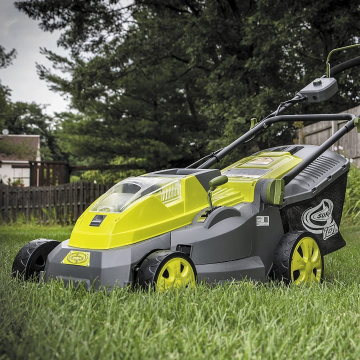 efficient lawn mower