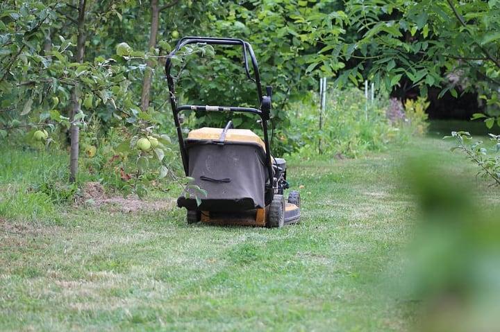 lawn mower grass collector bag