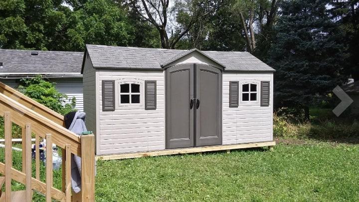 weatherproof garden shed