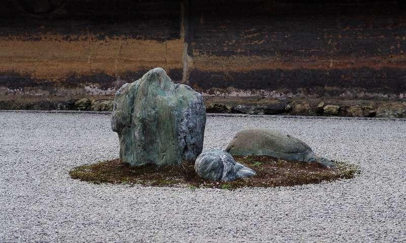 rock zen garden