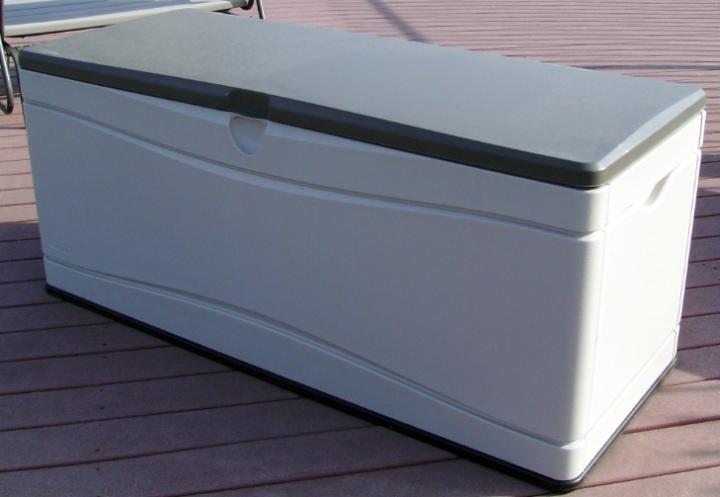storage deck box chair