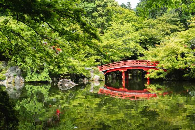 Zen garden idea bridge