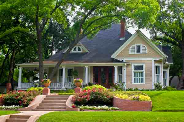 landscaping benefits house