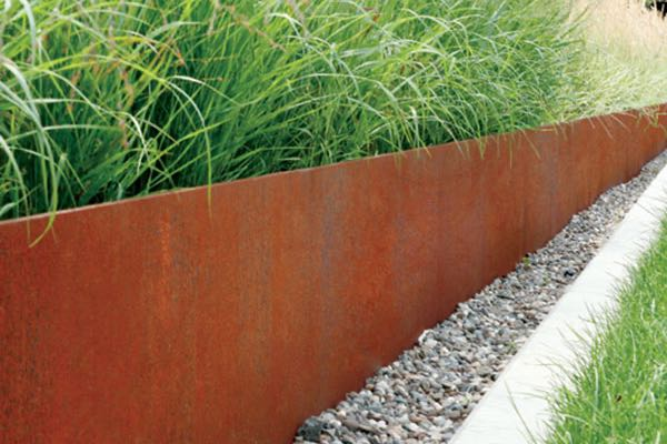 metal edging garden edge