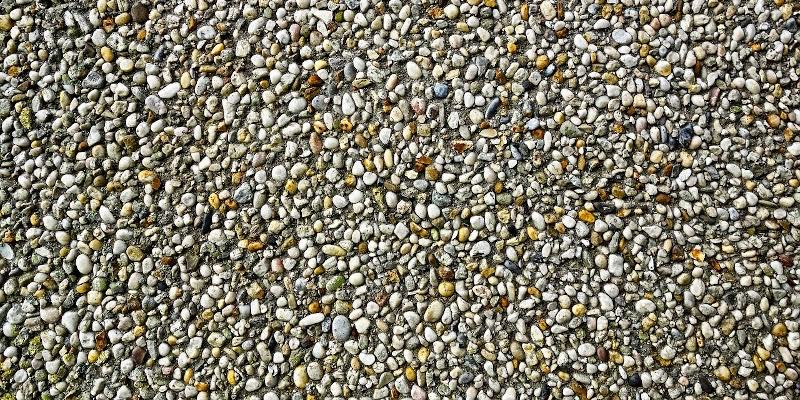 pea gravel landscaping rock ideas