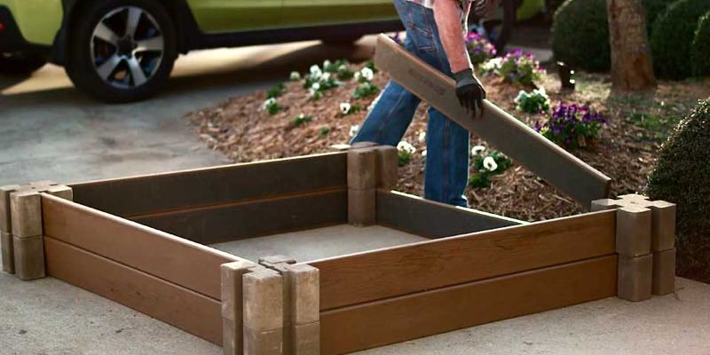 raised garden beds wood