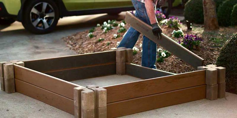 raised garden beds wood
