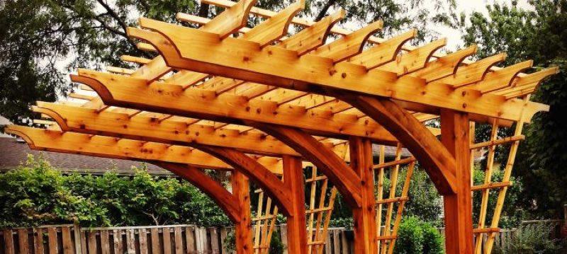 cedar landscaping timbers