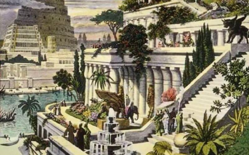 hydroponic gardens of babylon history