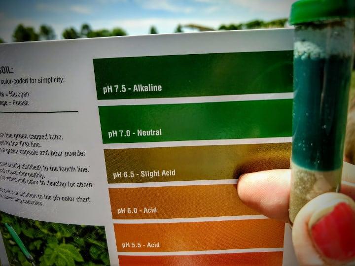 ph testing kit for aquaponics