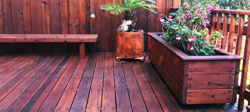redwood timber landscaping ideas