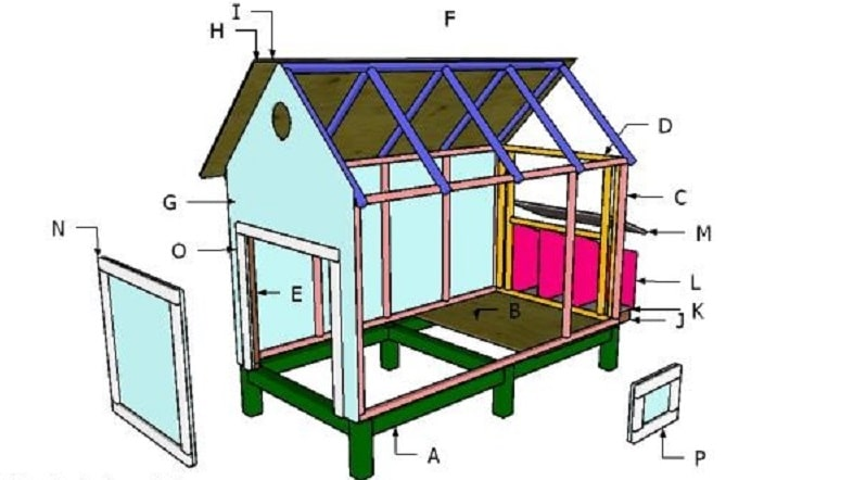 backyard chicken coop 1