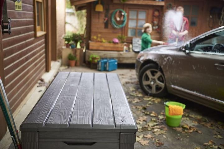 durable outdoor garden storage