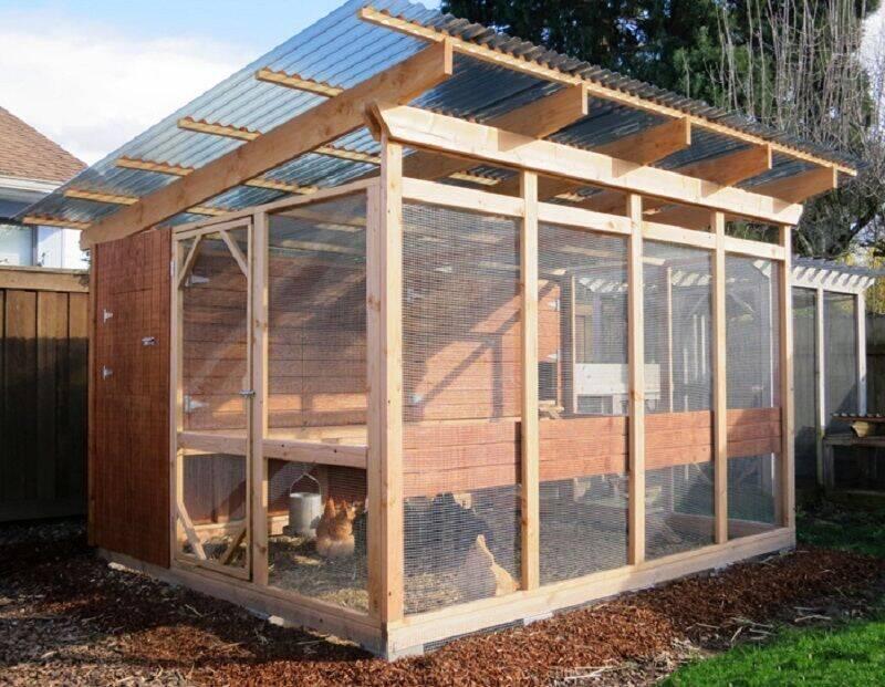 garden loft chicken coop