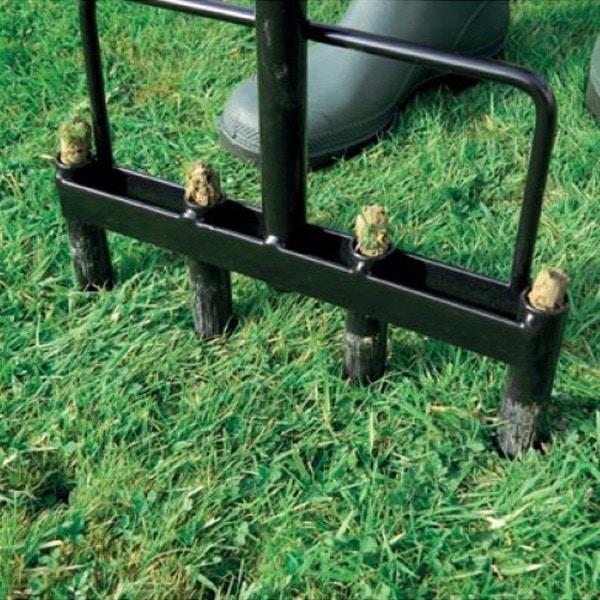 manual foot lawn aerators guides
