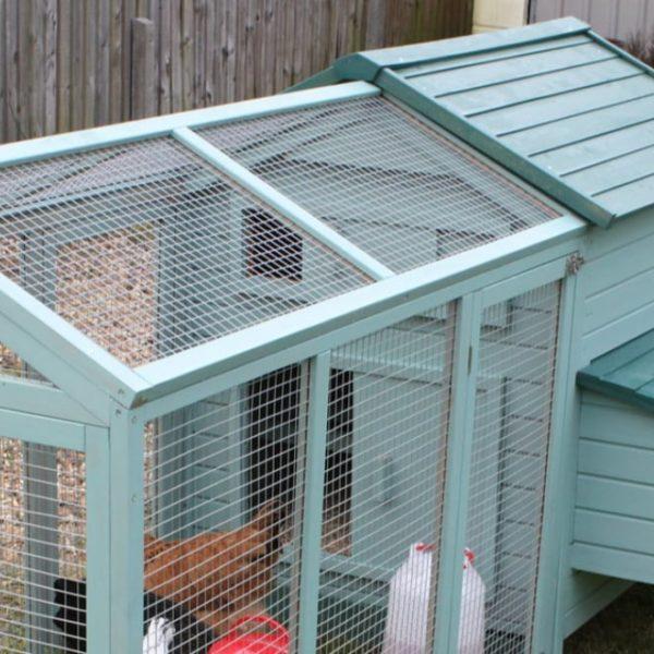 mini chicken coop