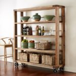 pine wood shelf