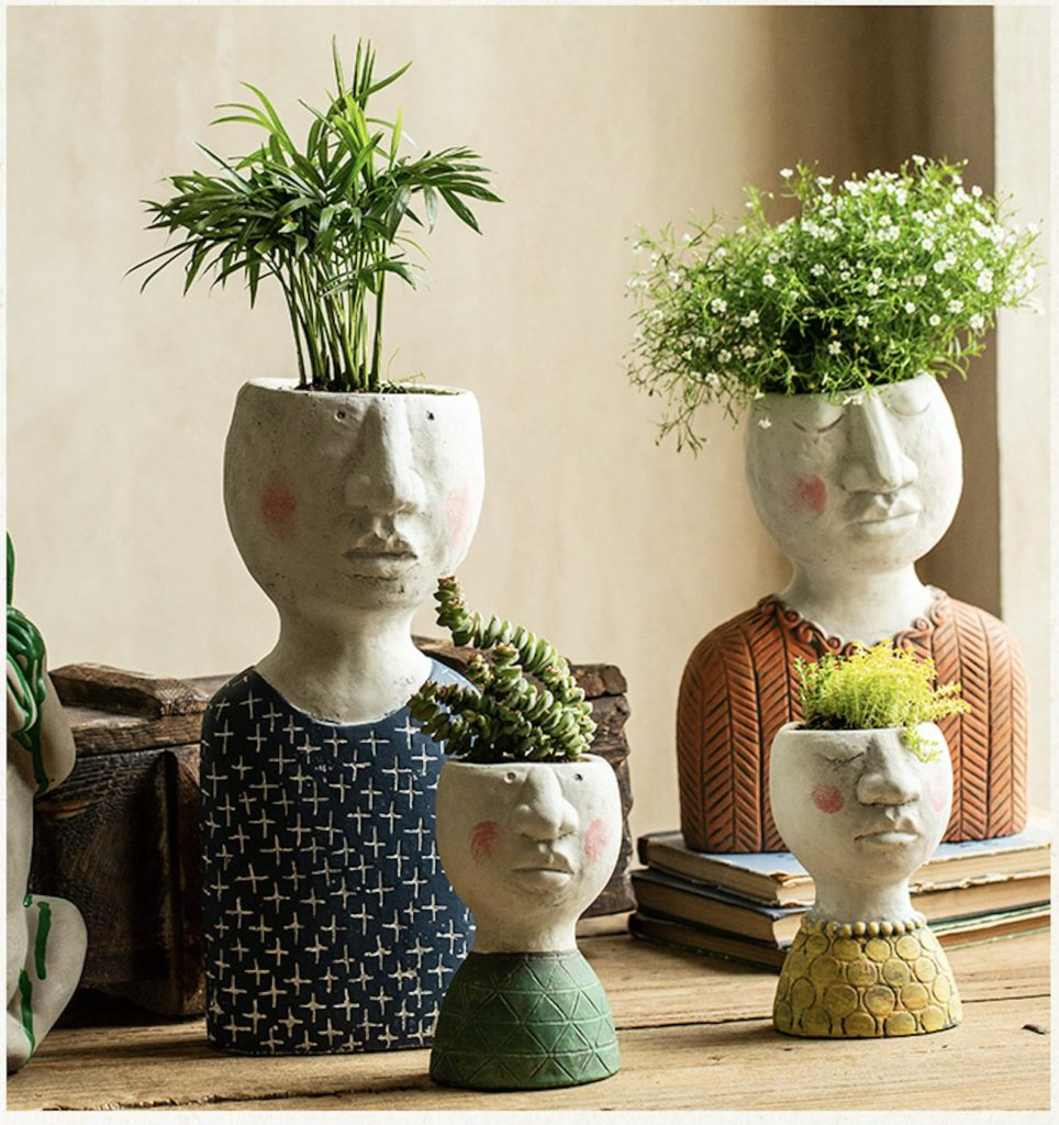 plant pot holders family