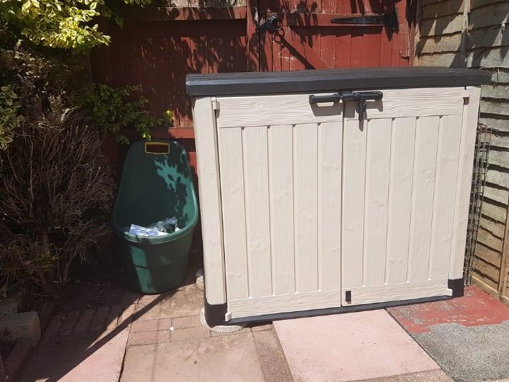 portable garden storage