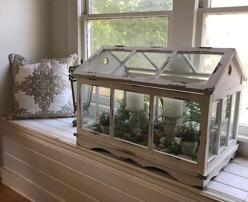 vintage terrarium idea
