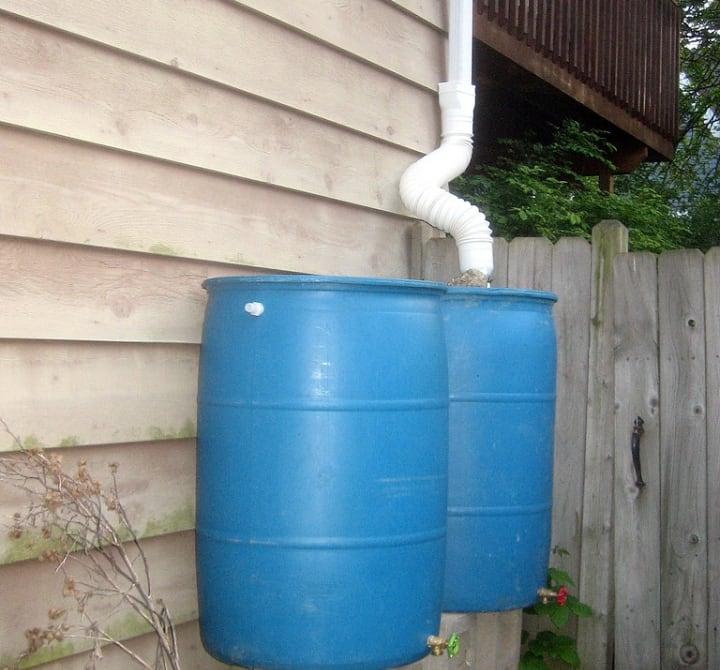 diy rain water harvesting