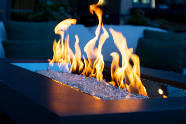 electric fire pit indoor