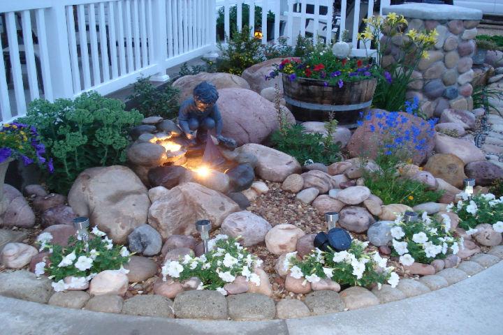 garden rocks design