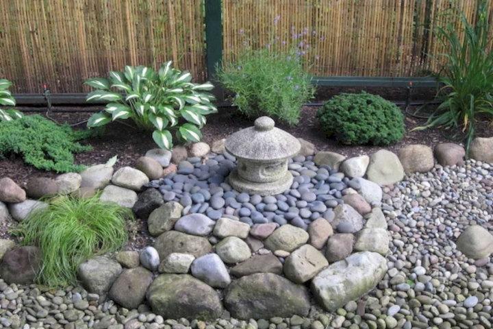 garden rocks diy