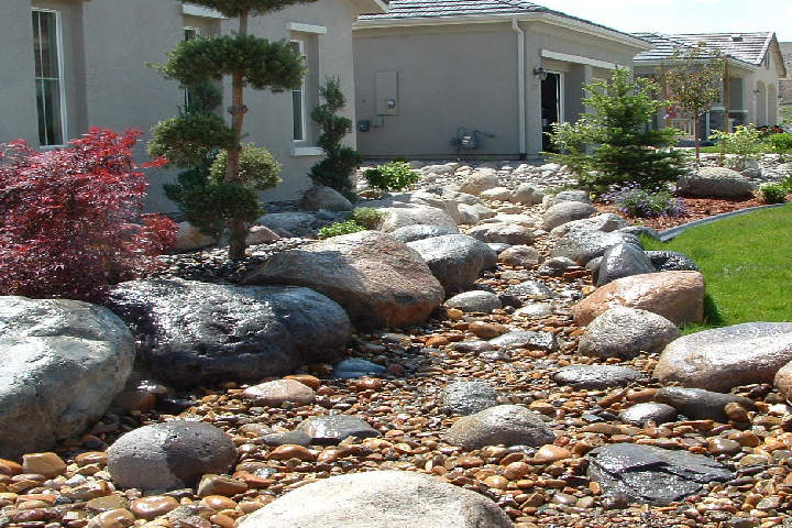 garden rocks ideas
