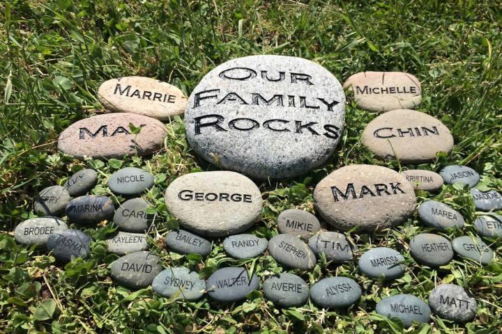 garden rocks pebbles